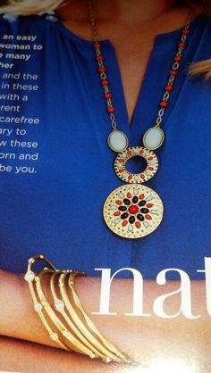 Alicante necklace and For You bracelets (Lia Sophia) one of the awesome things in the NEW spring summer 2013 issue!