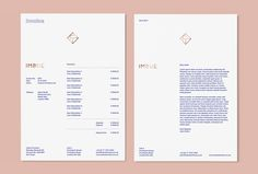 Incredible invoice design!