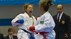 Shannon Nishi kicking butt....my type of fighting. sport kumite. karate