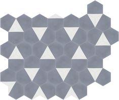 Carrelage de sol en gr s c rame poli motif victorien - Couleurs et matieres carrelage ...