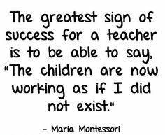 All great special ed teachers would agree...