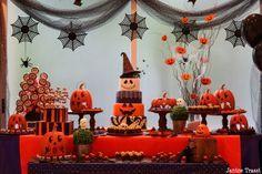 decoração halloween com tule - Pesquisa Google