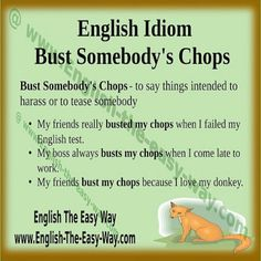 idiomatic expressions for heavy rain in many different languages  idiom bust somebody s