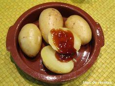 Bloc de recetas: Patatas asadas en microondas