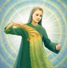 Abundantia – A Jólét és Bőség Istennőjének Áldása – ÉLETEDBE CSODÁKAT HOZ!