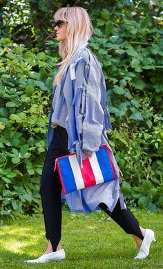 Balenciaga bag. Photographed by Style Du Monde at Copenhagen Fashion Week.