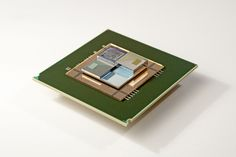 Made in IBM Labs: By 2025, chip stacks with embedded liquid cooling, communications in three dimensions and minimal power consumption will shrink supercomputers to the size of a sugar cube.