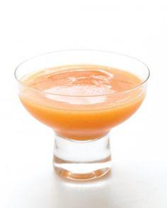 Frozen Peach Margaritas 1 (16 oz) pkg frozen sliced peaches, 3/4 c tequila, 1/4 c triple sec, 1/4c fresh lime juice, 1 c ice cubes - blend in blender and serve
