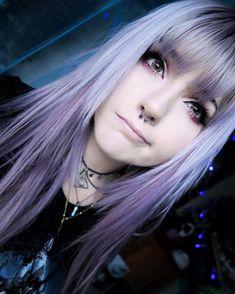 Likes, 220 Comments – Mooncaller Leda Muir 🌙💫 (Theledabunny Johnson)… - Makeup Tutorial Smokey Leda Muir, Hair Inspo, Hair Inspiration, Cute Emo Girls, Emo Scene Hair, Emo Scene Makeup, Scene Hair Bangs, Scene Girls, Purple Hair