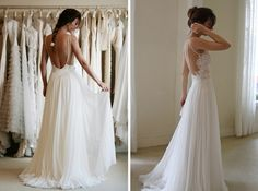 Friday's Fab 5 ✈ Backless Wedding Dresses | Fly Away Bride