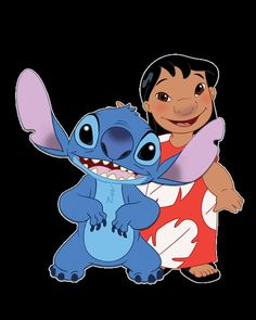 Lilo and stitch character for download to print by PollysAprons