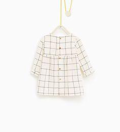ZARA - KIDS - Check dress
