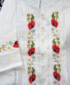 Женская сорочка вышиванка с коротким рукавом