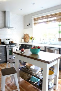 The-Inspired-Room-Kitchen-DIY-Wood-Island-600x900