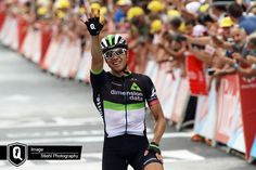 Team Dimension Data for Qhubeka's Edvald Boasson Hagen crowned an incredible performance by soloing to victory after a powerful attack on the final kilometers...