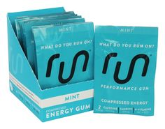 Save on Performance Energy Sugar-Free Gum Mint by Run Gum and other Chewing Gum, Energy Chews, Energy Enhancers          and Sugar-Free remedies         at Lucky Vitamin. Shop online for Food & Snacks, Sports Nutrition, Run Gum items, health and wellness products at discount prices.