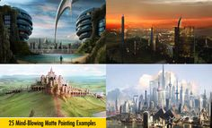 25 Mind-Blowing Matte Painting Examples for your inspiration. Follow us www.pinterest.com/webneel