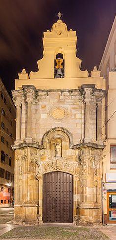 La capilla de Nuestra Señora de Europa de Algeciras, conocida popularmente como Capillita de Europa, está situada en la Plaza Alta.