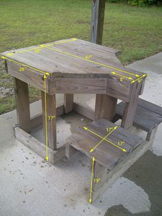 Free Shooting Bench Plans | Free Bench Plans. #shooting #bench #range                                                                                                                                                     More