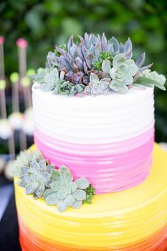 Wedding Cake Inspiration Wedding Cake Inspiration, Wedding Cakes, Succulents, Desserts, Food, Wedding Gown Cakes, Meal, Wedding Pie Table, Deserts
