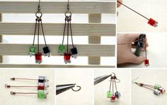 Pretty and easy earrings