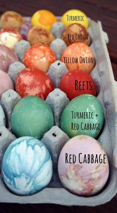 Naturally Dyed Eggs Tutorial – Painted Pomegranate