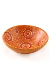 Image Orange Soapstone Harambee Bowl