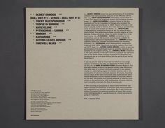 Album Cover Design, Autumn Leaves, Album Covers, Blues, Editorial, Graphic Design, Vinyls, Packaging, Printed