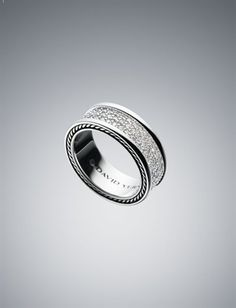 Men's Diamond & Sterling Silver Rings | Men's Jewelry | David Yurman