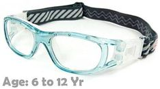 465ffd02e4  6-12 yrs  Kids Sports Goggles BL016 Blue (Prescription Rx Lenses Available)