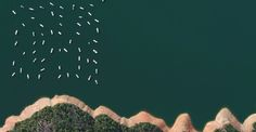 Overview - Le foto satellitari raccolte da Benjamin Grant | Collater.al