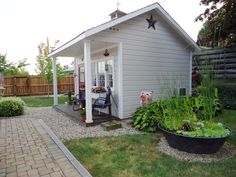Image result for shed designs with porch