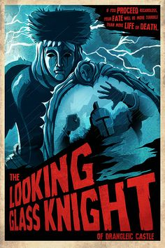 The Looking Glass Knight  Dark Souls 2 Poster  24x36 by Crowsmack, $40.00