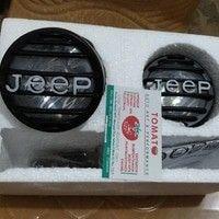 jual lampu foglamp -ukuran 9cm -motif jeep, bs di lepas2 cover jeep nya -warna putih, bohlam h3 -harga sepasang kiri kanan -bisa untuk semua mobil, tomato wtc 082210151782