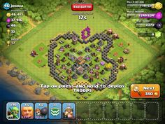 Clashers are some of the funniest people out there. Check out 7 of the funniest base designs out there. #clashofclans