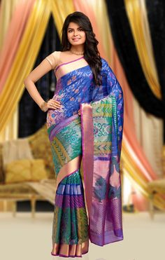 Rich Feel Soft Silk Saree 1036