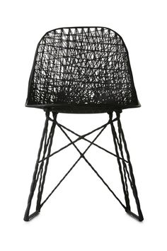 Carbon Chair by Bertjan Pot and Marcel Wanders for Moooi | www.livingspace.com