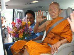 Luang Pho Koon Parisuttho Abt des Wat Banrai