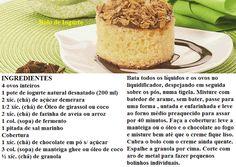 Reeducação Alimentar com Alimentação Saudável: BOLO DE IOGURTE
