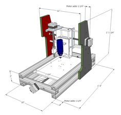 DIY Desktop CNC Machine Plans and Comprehensive Builder's Manual | MyDIYCNC - Home of the DIY Desktop CNC Machine