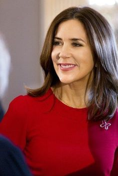 Princess Mary held the annual Christmas reception for the partners of Mary Foundation