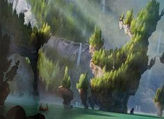 animation news + art — dipliner: How To Train Your Dragon concept art.