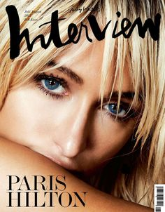 Paris Hilton by Damon Baker for Interview Germany July/August 2015