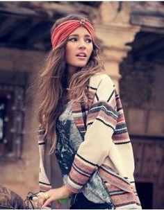Boho Turban - Turbante Hippie