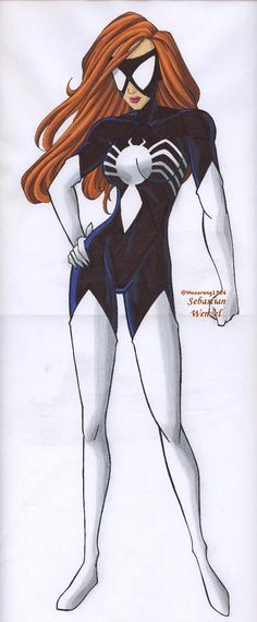 Spider Woman 2 by on DeviantArt Spider Girl, Spider Women, Marvel Fan, Marvel Heroes, Marvel Comics, Julia Carpenter, Tiger Artwork, Art Web, Marvel Comic Universe