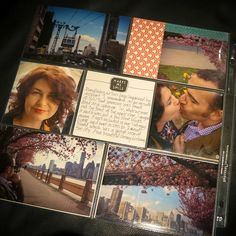 Check out Project life by Stampin' Up! Click on the photo to see layout ideas #plxsu #stampinup