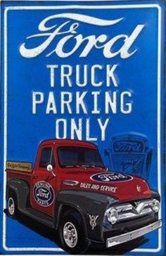 ford parking only  20x30 cm
