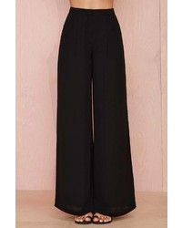 Black Wide Leg Pants | How to Wear & What to Wear With & Where to Buy | Lookastic for Women