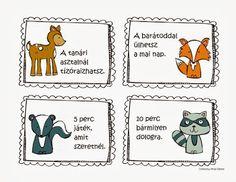 bónuszkártyák Lob, Games For Kids, Diy For Kids, Funny Games, Woodland Animals, Primary School, Classroom Decor, My Children, Kindergarten