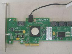 LSI Logic SAS3041E HP 4 Port SAS SATA RAID Card | eBay